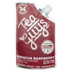 Hibiscus Raspberry fruit tea concentrate