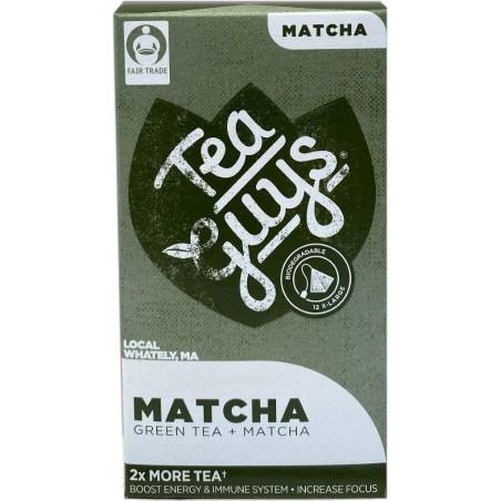 Matcha + Green Tea
