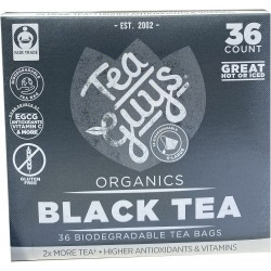 Black Tea 36 count tea bags