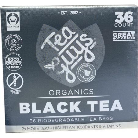 Black Tea 36 count tea bags