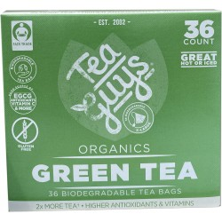 Green Tea 36 count tea bags