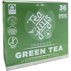 Green Tea 36 count tea bags